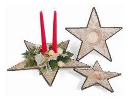 Tischdeko weihnachten basteln  Adventsdeko und Weihnachtsdeko basteln, Tischdekoration zu ...