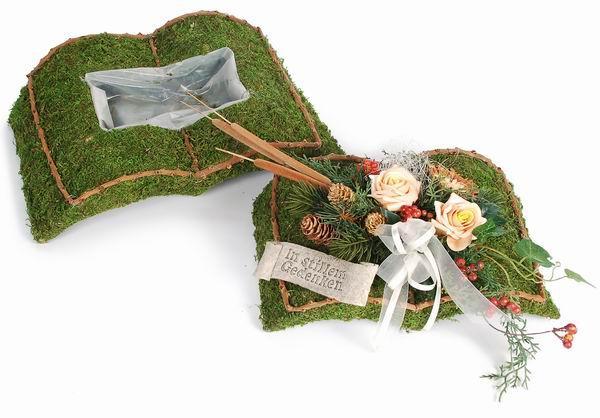 grabbepflanzung selber machen floristik hochzeit. Black Bedroom Furniture Sets. Home Design Ideas