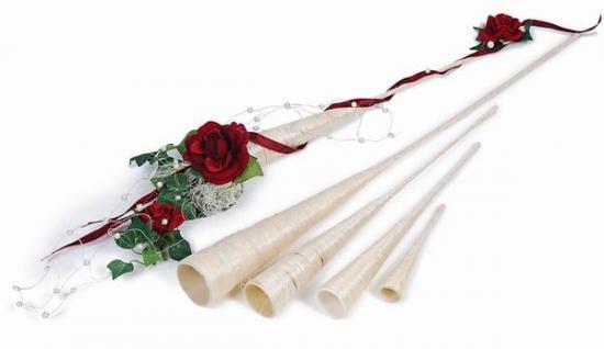 Hochzeitsdekoration selber machen floristik hochzeit - Blumengestecke ideen ...