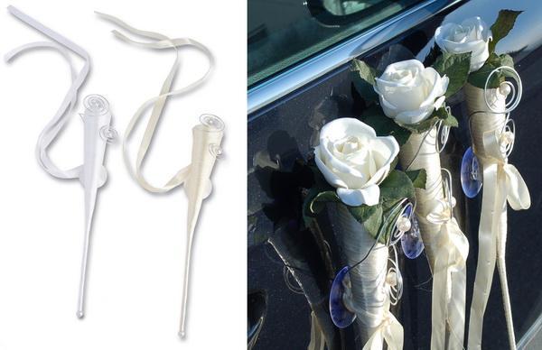 Autodeko für die Hochzeit selber machen