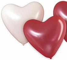 Herz luftballons f r die hochzeit kaufen for Hochzeit raumdeko