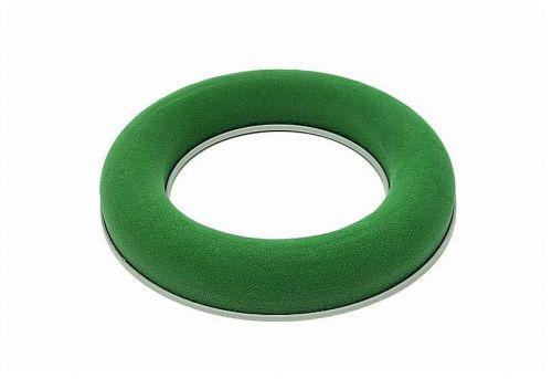 Steckschaum-Ring , 25 cm, mit Plastikunterlage