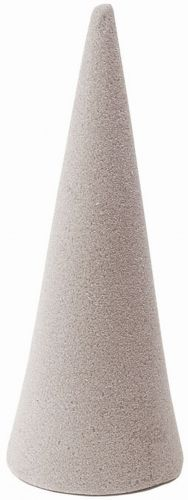 Kegel aus Trockensteckschaum  24 x 9 cm