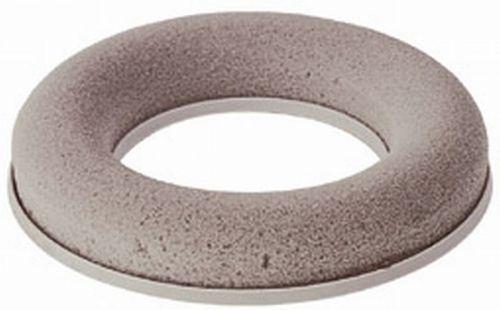 Steckschaum-Kranz mit Plastikunterlage, D. 20 cm
