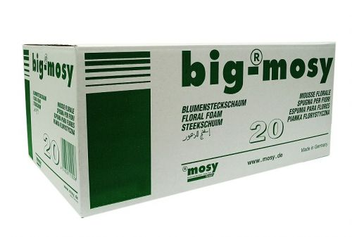 mosy Steckmasse - Ziegel, II Wahl, 20 Stck