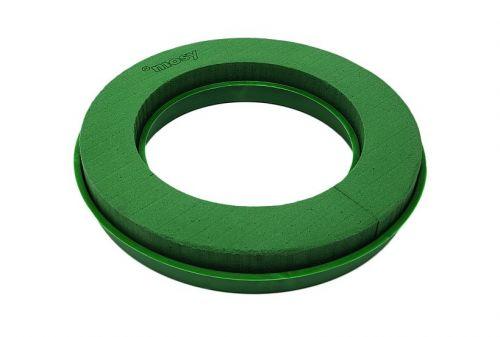 Steckschaum-Ring m. Wassersp., 35 cm / 22,5 cm