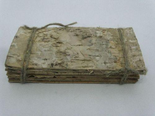 Birkenrinde-Platten, 19 x 9 cm, 10 Stck