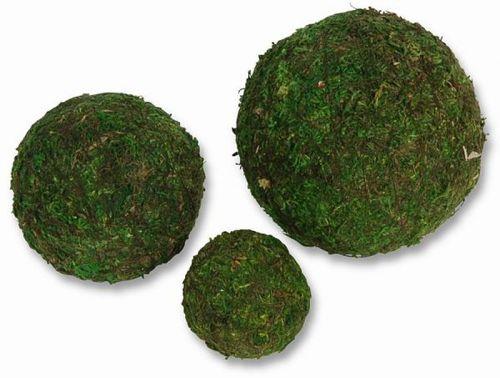 Moos-Kugeln, 5 cm, 5 Stck