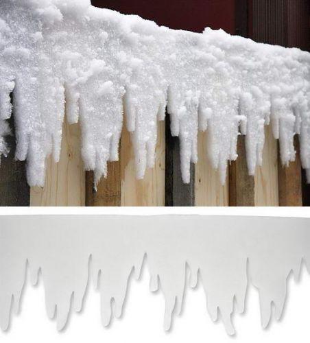Eiszapfengirlande, 500 x 30 cm
