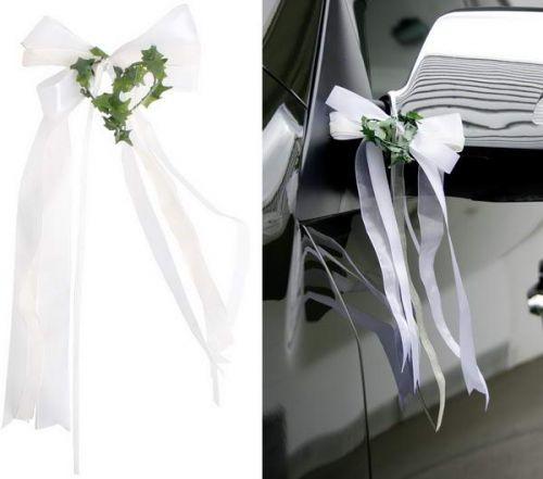 Autoschmuck Hochzeit, Herz, 2 Stck