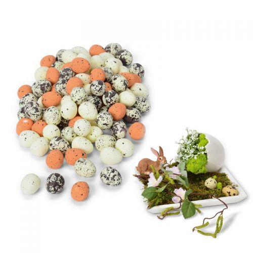 Deko-Eier, mini,  Styropor, 100 Stück