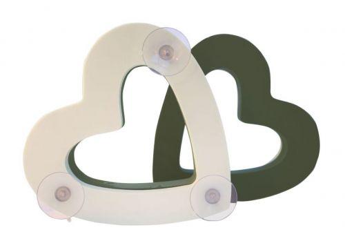 Autoschmuck - Herz für frische Blumen, 37 cm