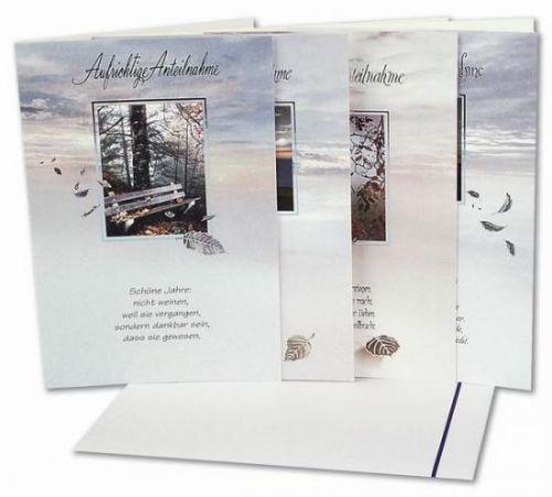 Trauer-Karte, 20 Stck