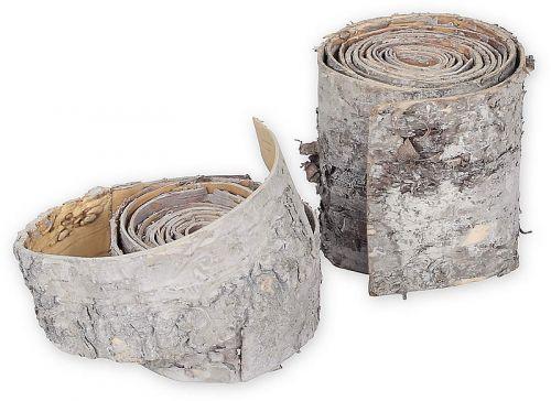 Birkenrinden-Band, geweißt, 2 m