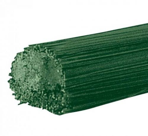Blumenstieldraht, grün (Blumendraht), 30 Stück