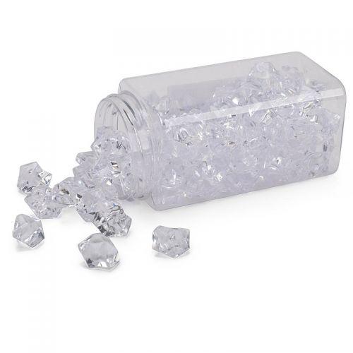 Deko-Eiswürfel, Acryl, 99 Stück