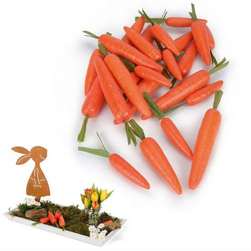 Deko-Karotten, 24 Stück
