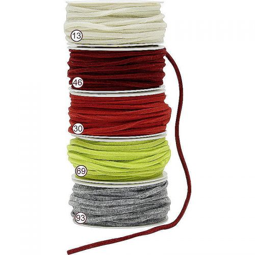 Filzband, 4 mm, 15 m