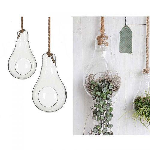 Glas Glühbirne , 25 cm