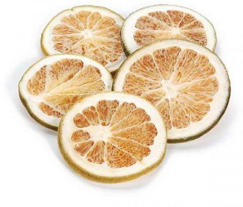 Orangenscheiben, grün, 250 g
