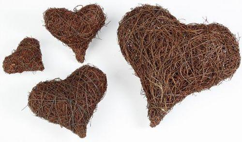 Reben-Herzen, 12,5 cm, 2 Stck