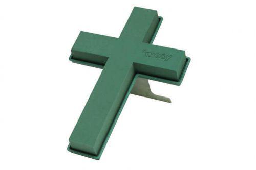 Steckschaum-Kreuz mit Ständer, 50 cm