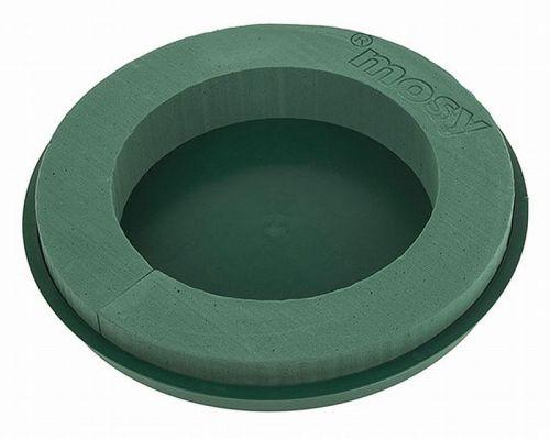 Steckschaum-Ring, 30 cm, mit Plastikteller