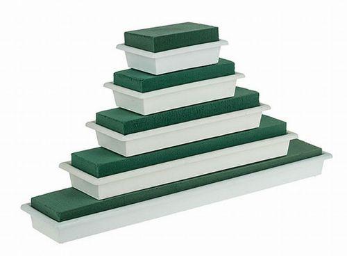 Tischgesteck - Unterlage mit Steckschaum, 30 cm, 2 Stück