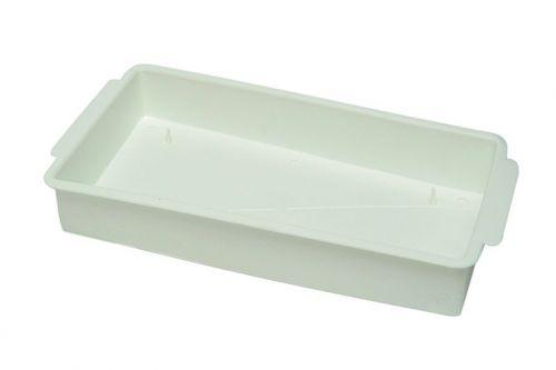 Schale für 1/1 Steckmasse-Ziegel. weiß