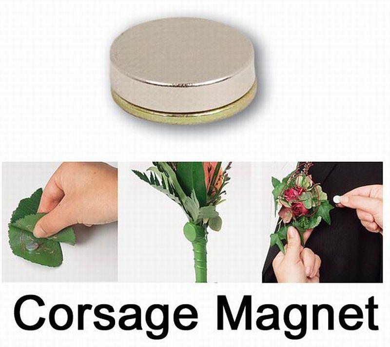 Corsage Magnet Blumen Gesteck 5 Stck