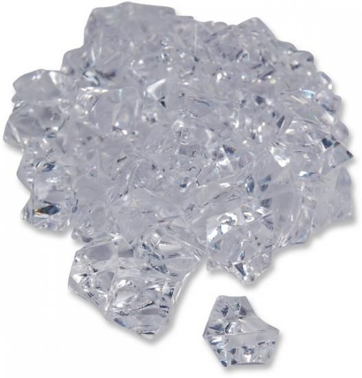 Acryl-Steine, 2,5 cm, 55 Stck
