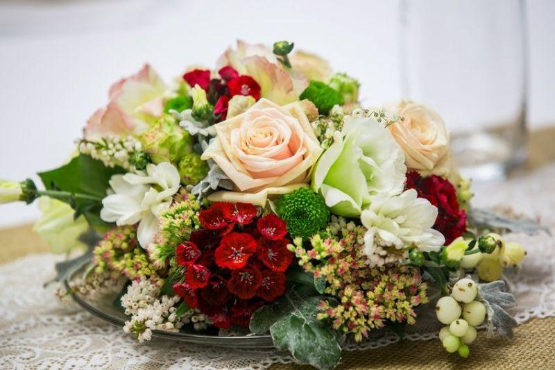 Blumengestecke Nach Anleitung Selber Machen