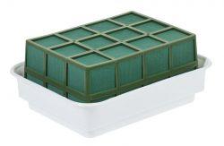Tischgesteck-Schale , 15,5 cm mit Steckschaum