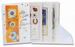 Geburtstag: Glückwunsch-Karten