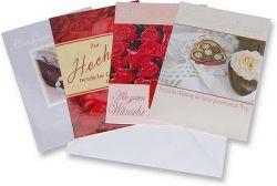 Karten-Einladungen zur Hochzeit basteln