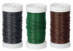 Bindedraht, grün, 0,35 mm, 100 g, 125 m