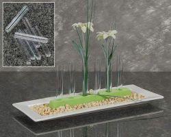 Reagenz-Röhrchen aus Acryl, 10 cm, 5 Stck