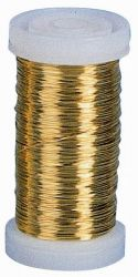 Messingdraht (Golddraht), 0,3 mm, 100 g , 125 m
