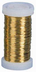 Messingdraht (Golddraht), 0,3 mm, 100 g , 125 m