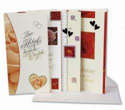 Hochzeits-Karten, 24 Stck, Hochzeitsdekoration