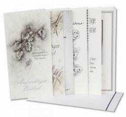 Trauer-Karten, 20 Stck