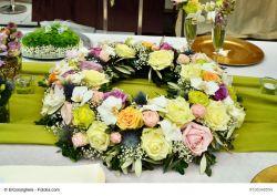 Blumen-Steckmasse-Ring, 30 cm