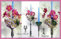 Blumen-Steckwamm-Kugel, halb, 25 x 13 cm