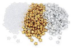 Deko-Sterne aus Acryl, 185 Stück