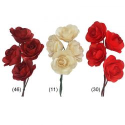 Holzrose, 7,5 cm, 12 Blüten