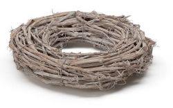 Kranz aus Taubenholz, 50 cm