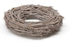 Kranz aus Traubenholz,  40 cm