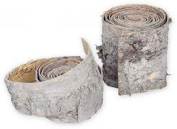 Rindenband aus Birke, 2,5 m lang, 10 cm breit