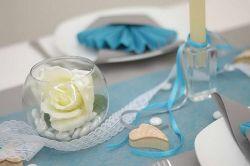 Satinband , 3 mm Hochzeit