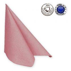 Serviette Classic, 50 Stück, Baumwolle, div. Farben